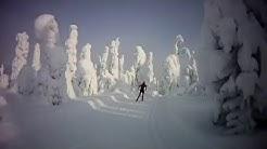 Valtavaara skiing - Ruka (720p HD)