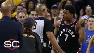 Warriors investor identified as fan who pushed Kyle Lowry won't attend the rest of NBA Finals | SC