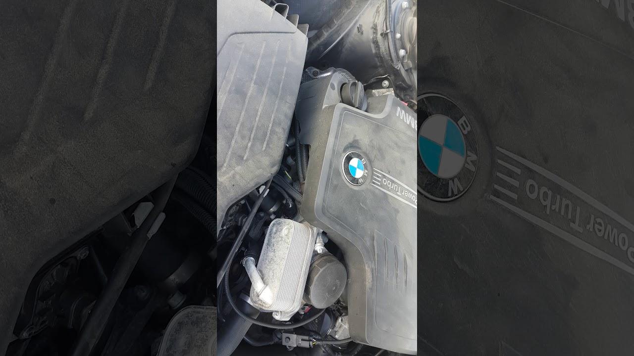 2017-08-19 Bmw 328i 2012 N20 Cold Start Engine Noise  Sounds Like A Diesel