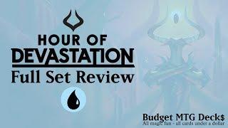 hour of devastation full set review blue