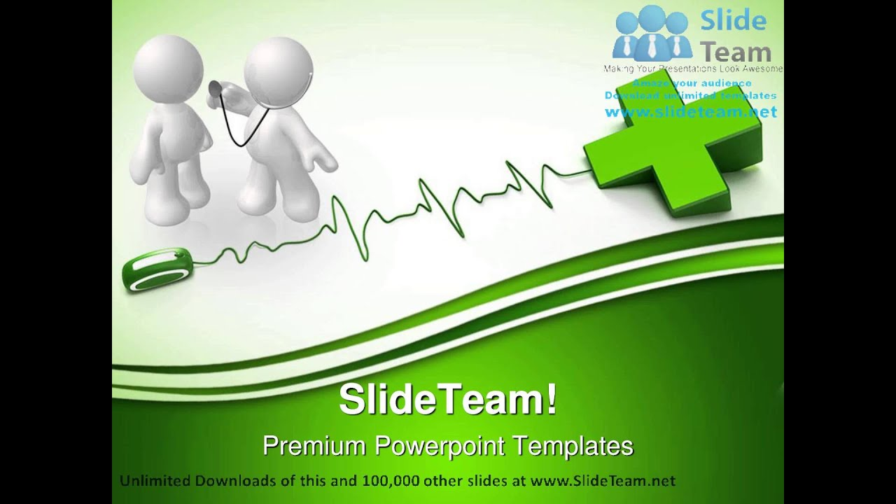 health online medical powerpoint templates themes and backgrounds, Modern powerpoint