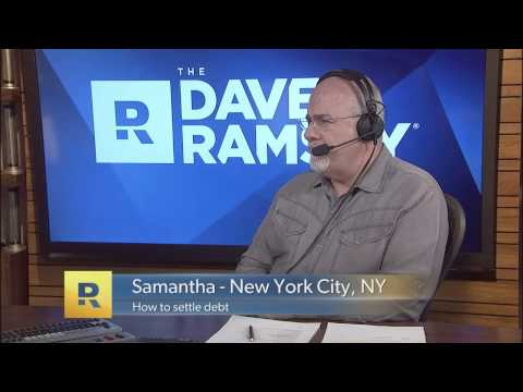 How To Settle Debt - The Dave Ramsey Show