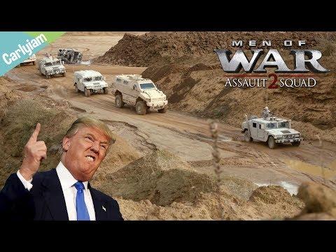 Escorting Trump Through Afghanistan - Red Rising - MOW: AS2