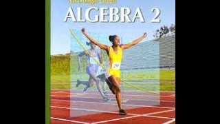 Review For Test Chapter 1 Algebra 2
