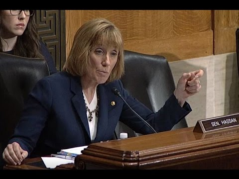 In HELP Committee Hearing, Senator Hassan Presses FDA Nominee Gottlieb on Combating Substance Misuse