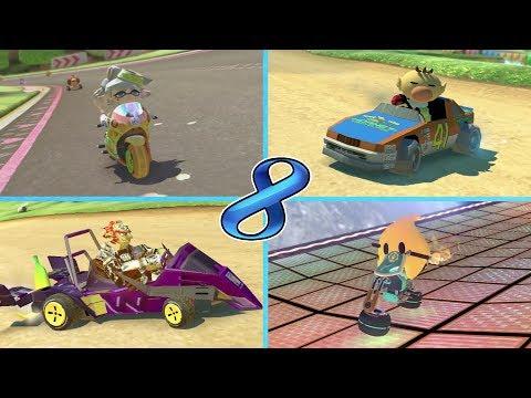 Get Olimar, Ganondorf, Marie & Luma - Mario Kart 8 Mods [Wii U] Pics