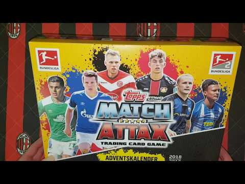 Match Attax Weihnachtskalender.Topps Bundesliga Match Attax Adventskalender 18 19 Film W Języku