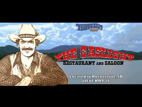 The Gaslight Restaurant and Saloon   Black Hills: Rockerville, South Dakota