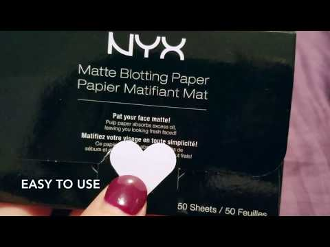 ✅  How To Use NYX Matte Blotting Paper Review
