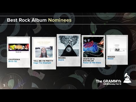 Best Rock Album Nominees | The 59th GRAMMYs