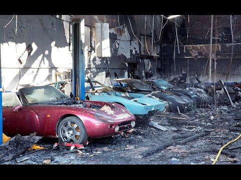 Central Sport Cars Fire Sees Ten Supercars Worth