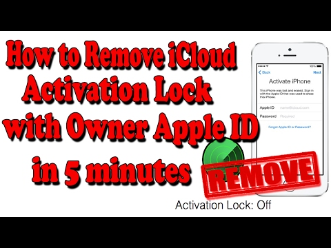 How to Remove iCloud Activation Lock With Owner Apple ID in 5 minutes