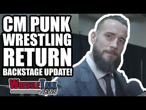 MAJOR WWE SmackDown News! CM Punk Wrestling RETURN Backstage UPDATE! | WrestleTalk News May 2018