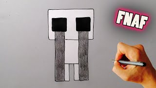 How to Draw adventure crying child from Five Nights at Freddy