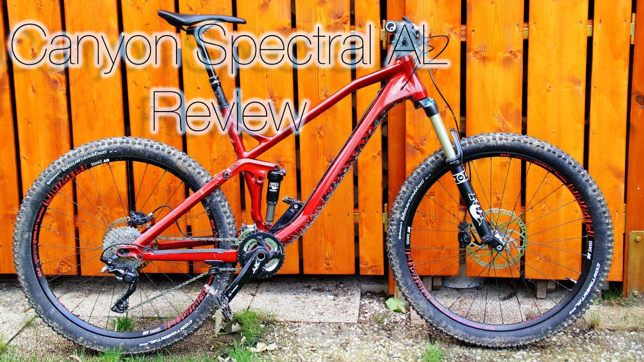 b29c676b9b2 2015 Canyon Spectral AL 7.0   Hands-On Review with testride! - YouTube