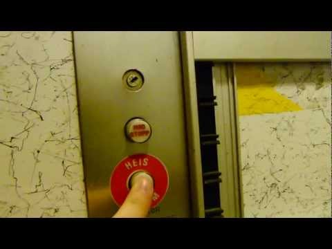 Elevator alarm button