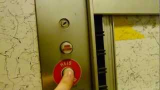 Elevator alarm button test GONE WRONG