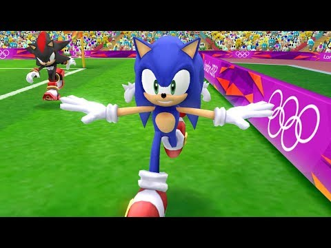 Mario and Sonic at the London 2012 Olympic Games - Football (All Characters)