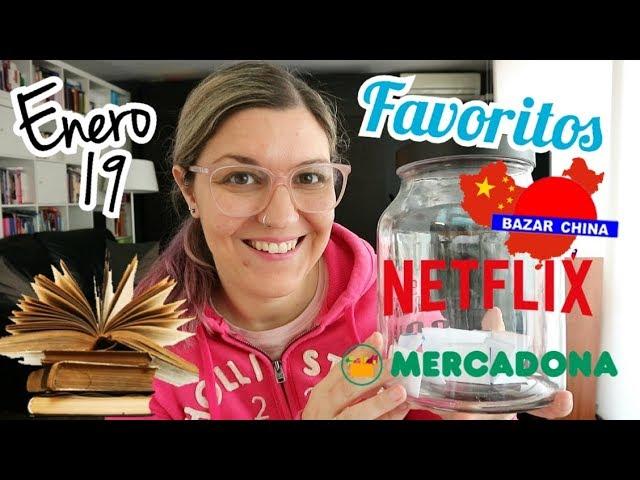 FAVORITOS ENERO 2019 | Cremas Mercadona, Compras Bazar Chino, Libros...