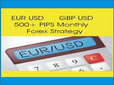 1 pip forex eurusd