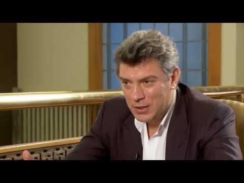 Смотреть Борис Немцов: Люблю жизнь,но знаю Путина.... онлайн