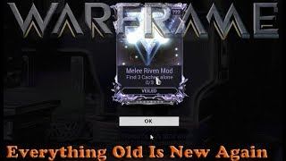 Warframe - Everything Old Is New Again
