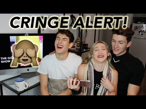 REACTING TO MY OLD CRINGEY VIDEOS!
