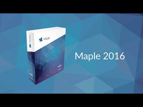 What's New in Maple 2016