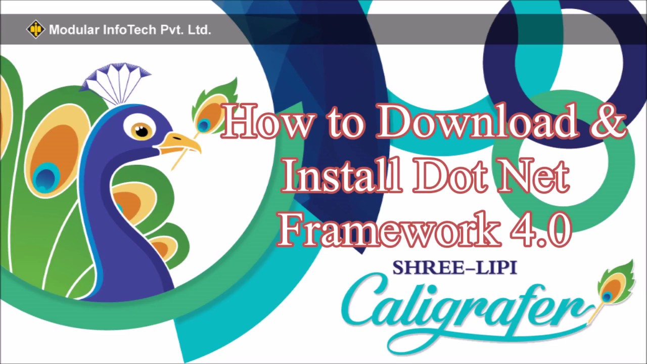 How to download and install Dot Net Framework 4.0 - YouTube