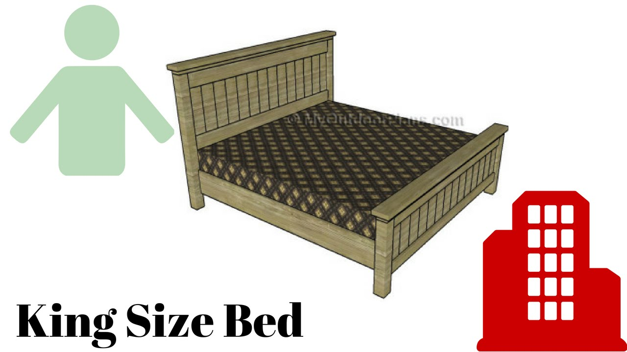 how to build a king size bed frame - How To Build A King Size Bed Frame
