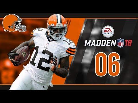 Madden NFL 18 Owner Mode (Cleveland Browns) #06 Week 5 vs. Jets