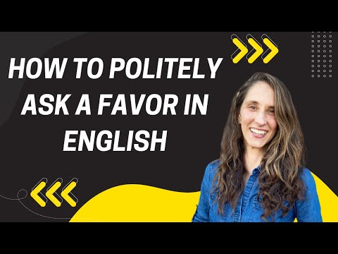How to Politely Ask a Favor in English Mp3