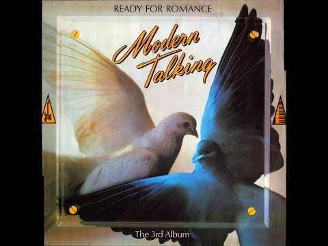 MODERN TALKING - READY FOR ROMANCE (1986) LP VINILO FULL ALBUM