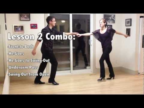 Learn to Swing Dance | Level 1 Lesson 2 (Lindy Hop) | Lindy Ladder | Shauna Marble