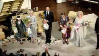 Angela Lansbury Blithe Spirit Final Curtain Call