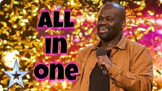 Daliso Chaponda - 3rd Place - Full Auditions - Britain