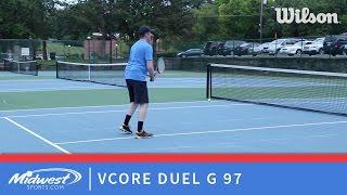 Yonex VCORE Duel G 97 playtest