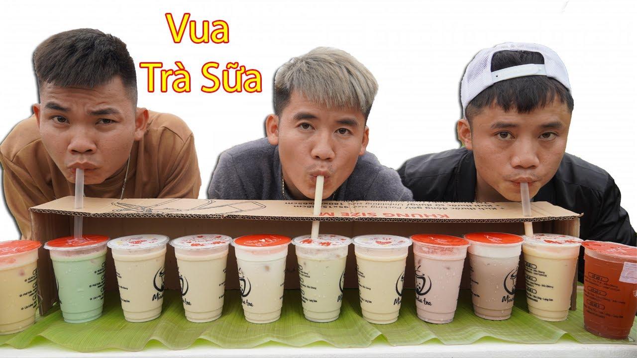 Hưng Troll | Trận Chiến Đoán Tên Các Loại Trà Sữa Thắng Nhận 500$