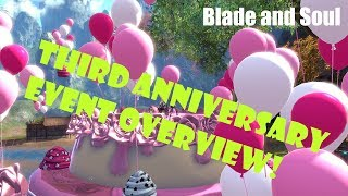 [Blade and Soul] Third Anniversary Event and Patch Overview!