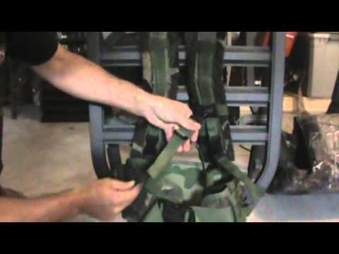 Molle Ii Attached To Summit Viper Youtube