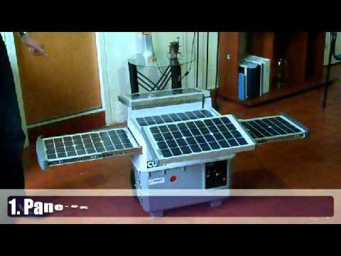 Cubo Solar 1500w. Generador Eléctrico Que No Consume Combustible.