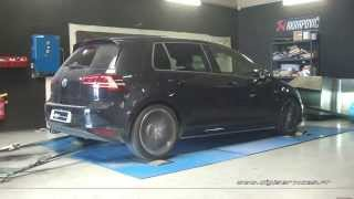 Reprogrammation Moteur VW Golf 7 tdi 184cv @ 219cv Digiservices Paris 77 Dyno