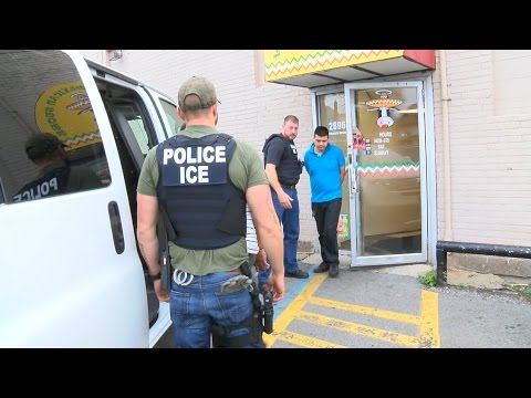 Customers react to arrests made at local Mexican restaurants after ICE raid