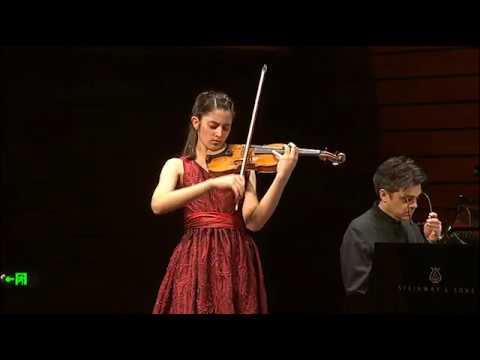 María Dueñas   Paganini   Violin Concerto No. 1   2017 Zhuhai International Violin Comp