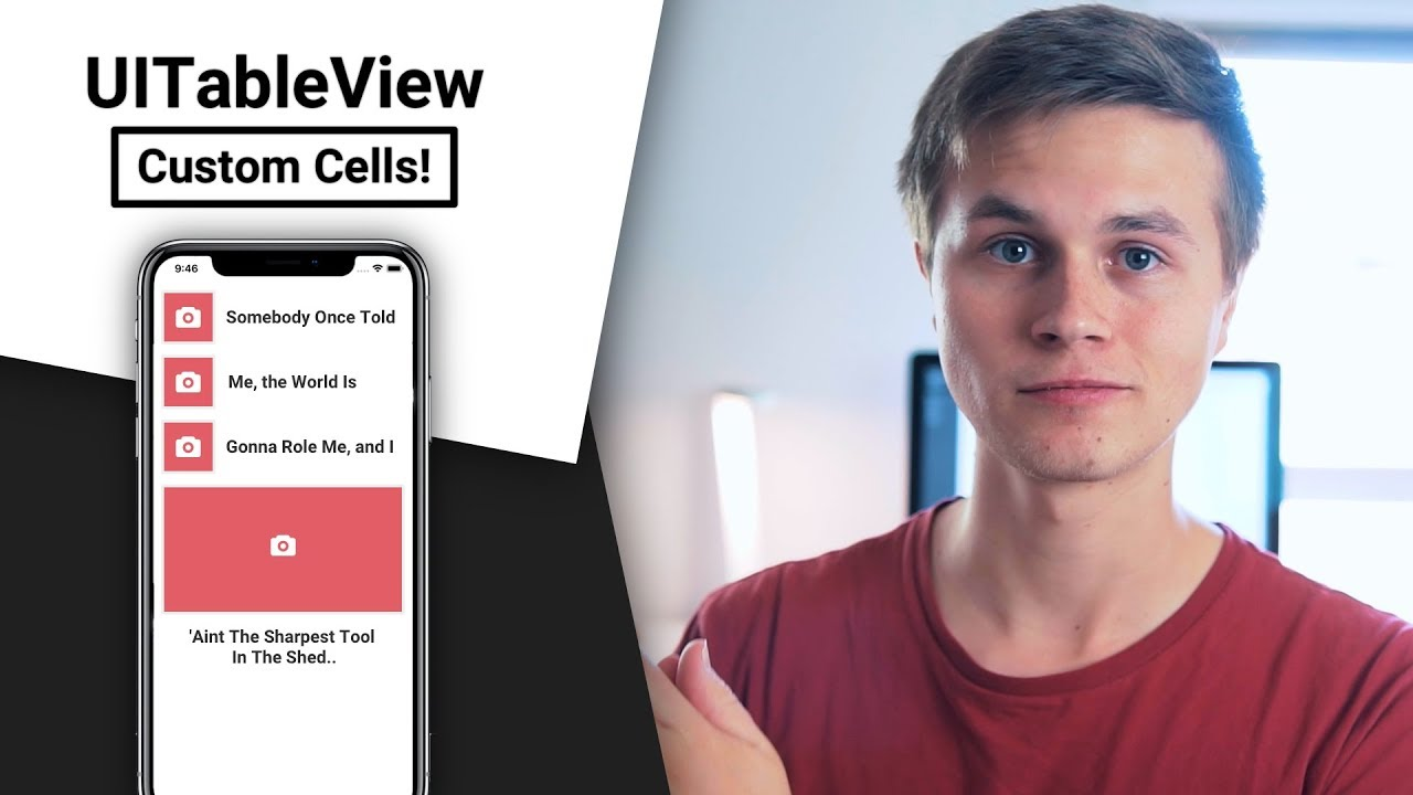 UITableView | Custom Cells! (Swift 4 in Xcode)