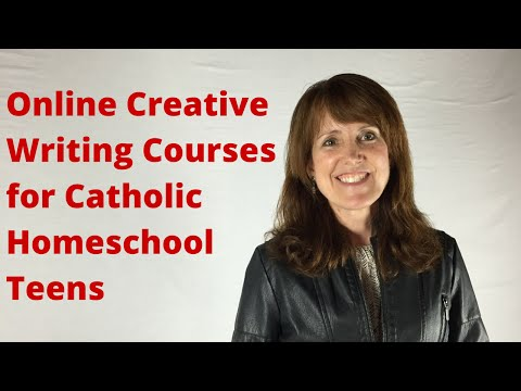Creative Writing: Developing Characters and Dialogue (Homeschool Online Course)