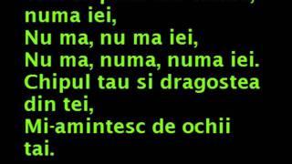 Dragostea Din Tei- Lyrics