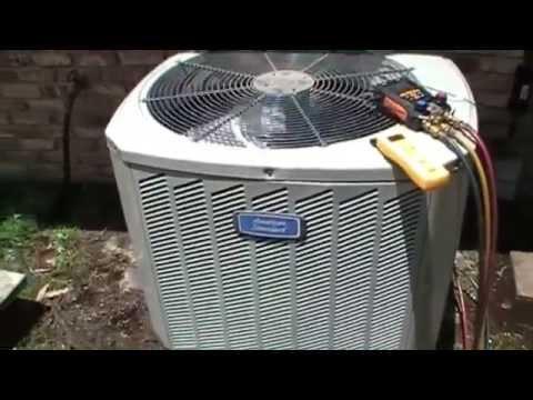 HVAC Service - American Standard Compressor Replacement