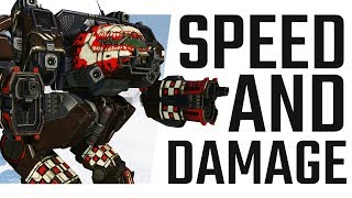 Speed and Damage! The Linebacker! Mechwarrior Online The Daily Dose #665