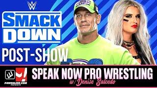 WWE SMACKDOWN: In Cleveland & Rolling Loud, Show Recap! | Speak Now Pro Wrestling w/ Denise Salcedo